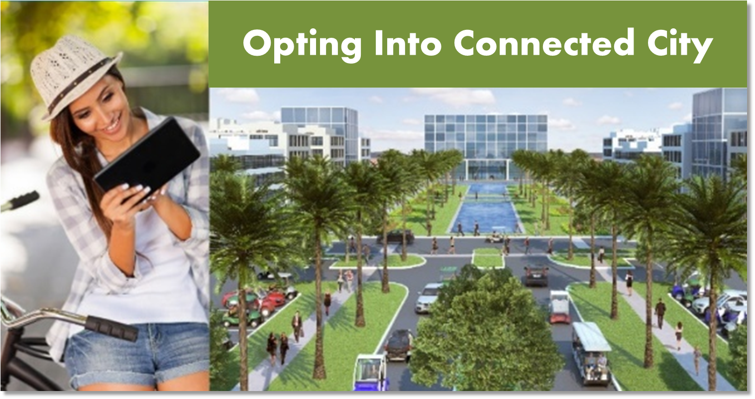Opting Into Connected City