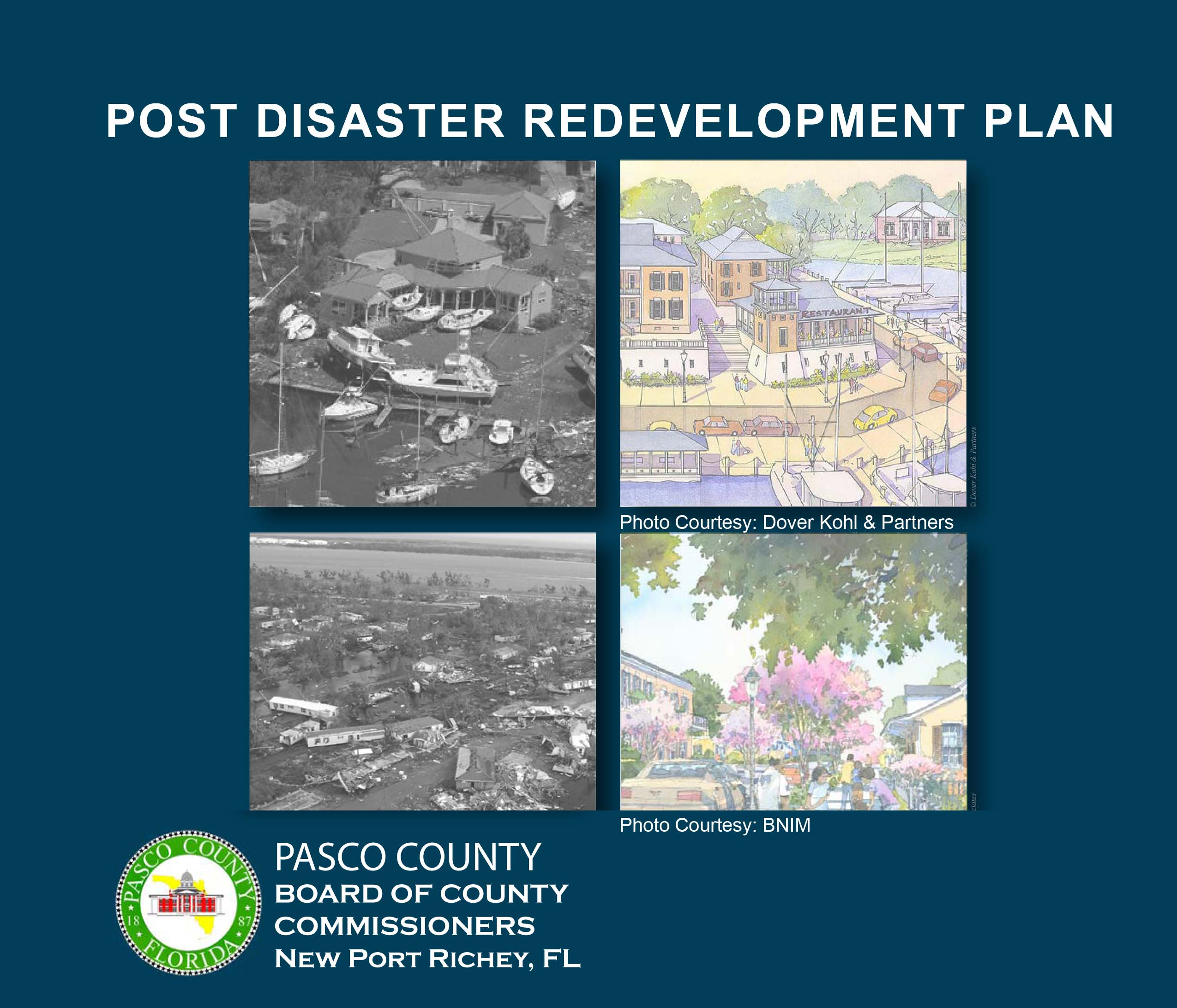 Pasco County's Post-Disaster Redevelopment Plan (PDRP)