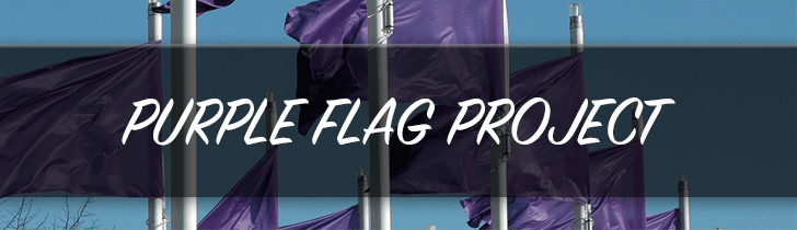 Purple Flag Project Banner