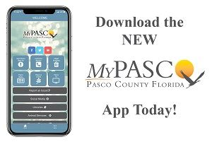 Reduced size version of the Download the NEW MyPasco App Today! Ad