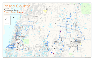 Pasco IMS Testing Map