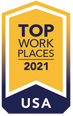 top work place badge